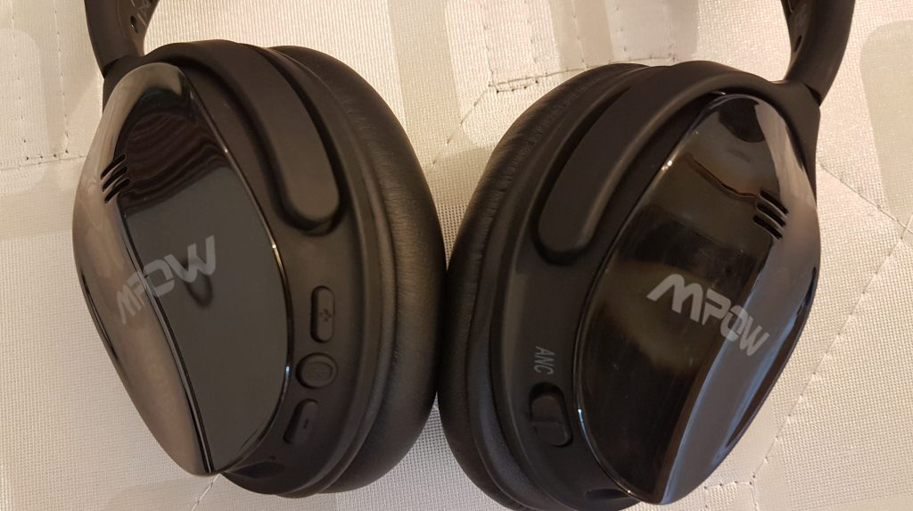 mpow h5 headphones controls