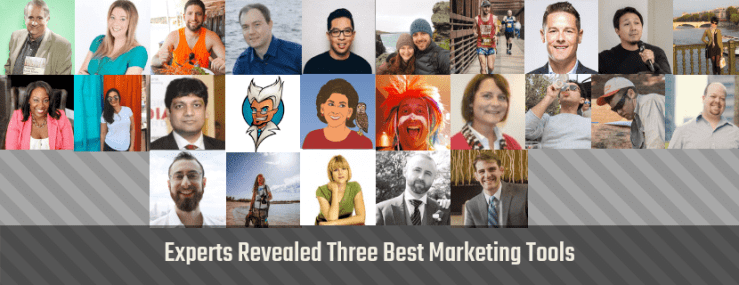 experts reveal best marketing tools
