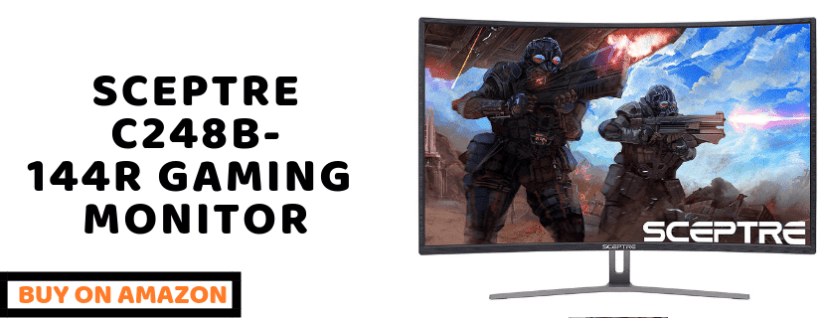sceptre curved gaming monitor