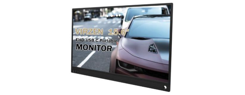 Virzen slim IPS external screen for laptop