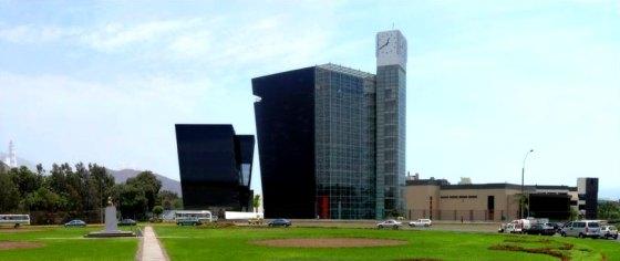 Torre Cincuentenario Universidad de Lima | Vista de conjunto