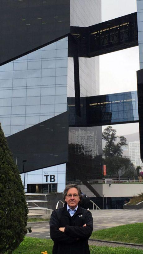 Torre Cincuentenario Universidad de Lima | Fachada interior