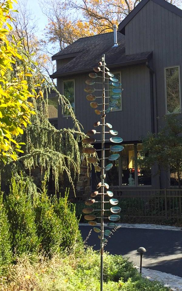 31. Bean Pole Lyman Whitaker Leopold Wind Sculptures