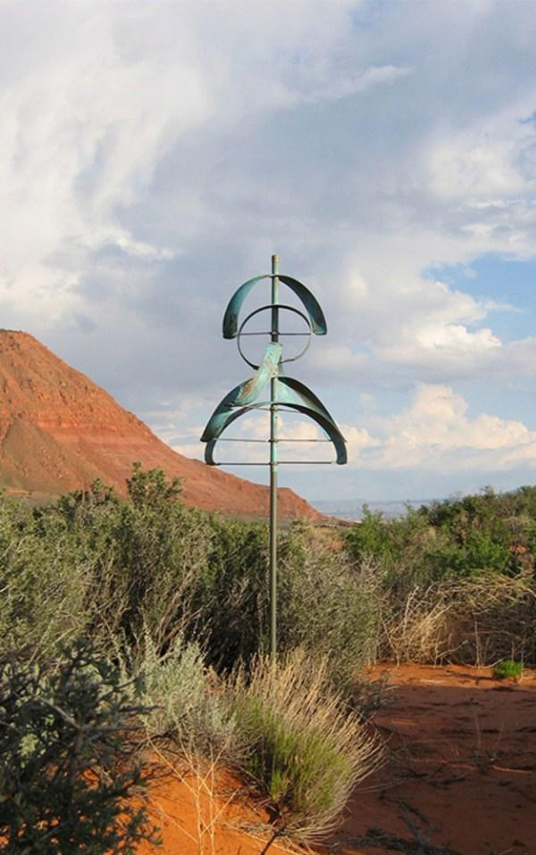 45. Eclipse Lyman Whitaker Leopold Wind Sculptures