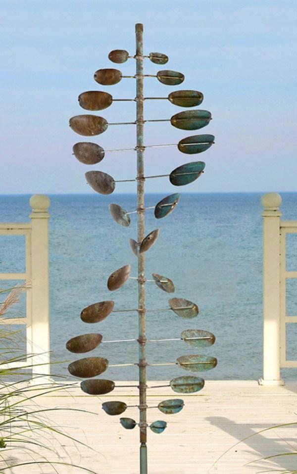 06. Double Helix Horizontal Lyman Whitaker Leopold Wind Sculptures