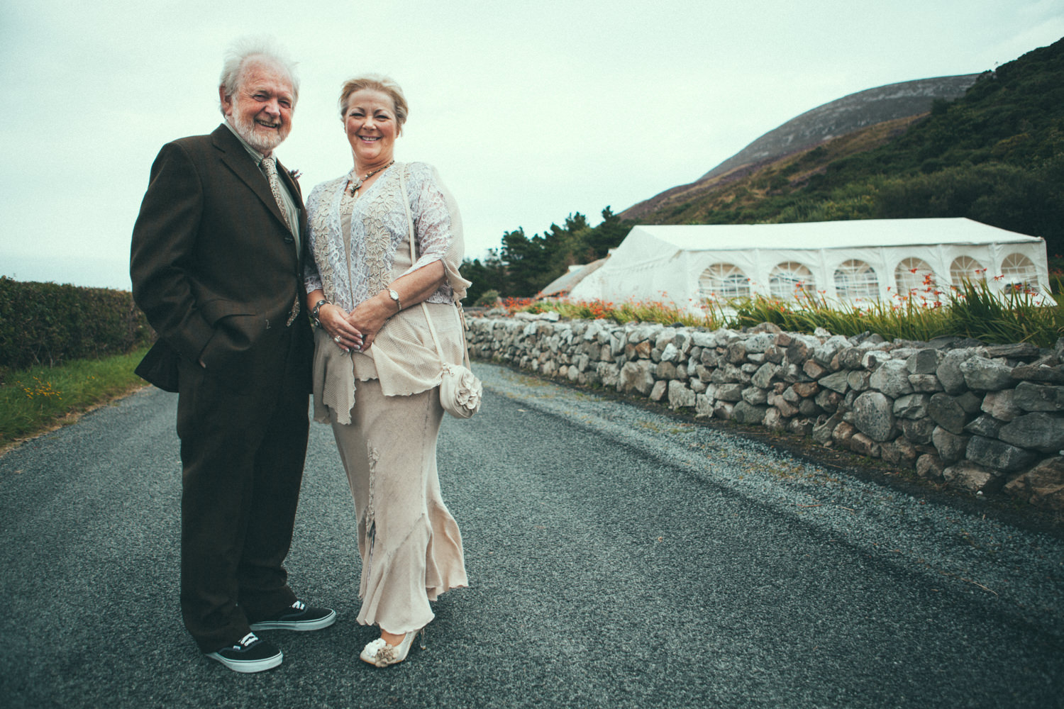 Donegal wedding mamore cottages Jay and Karen