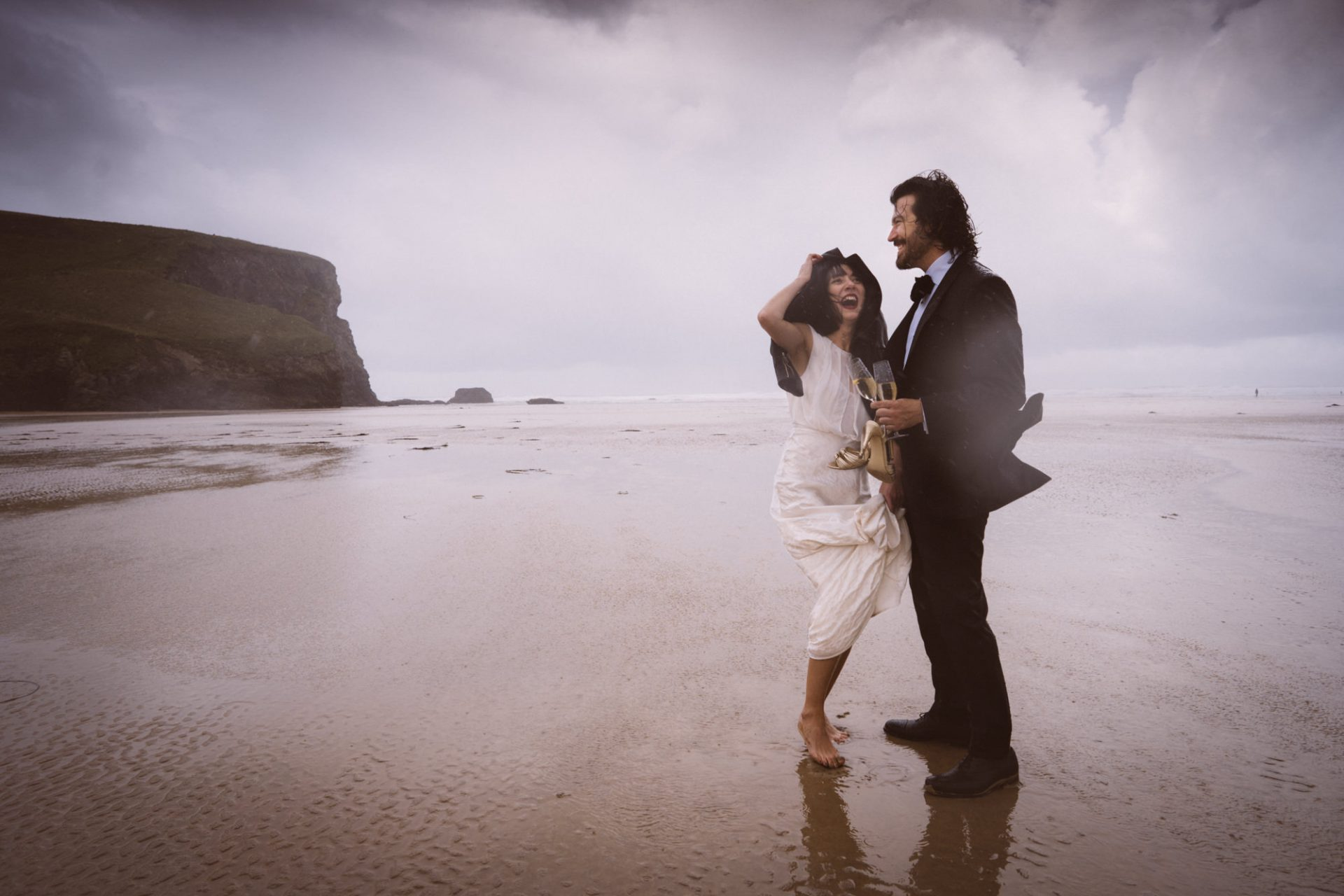 Aude and Ryan The Scarlet Hotel Elopement Wedding