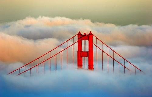 Fog over the Golden Gate, San Francisco
