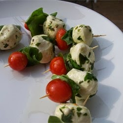 Appetizers And Snacks – Caprese Appetizer