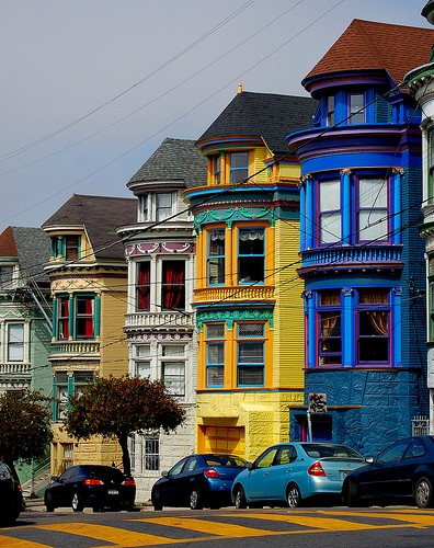 Bay Windows, San Francisco, California