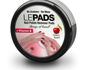 ELLEPADS deliver natural nail polish removal.