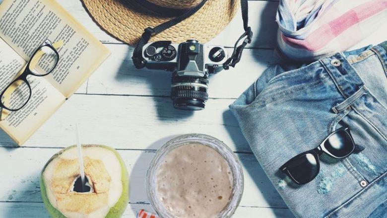 Affaires de vacances avec un levain