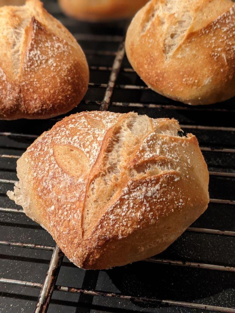 petit pain sur grille