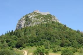 catharen kasteel in de Ariège is de moeite waard om te bezoeken