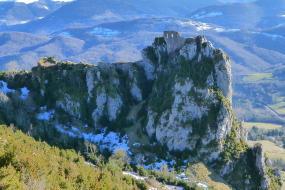 23 catharen kastelen in de buurt van gites Le Paradoxe des Pyrénées