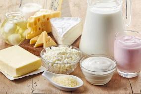 plaisirs gourmands avec les produits de la ferme. Le lait, le fromage, etc