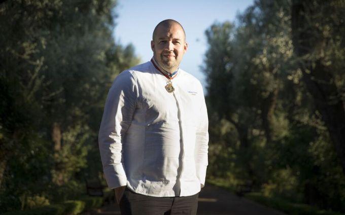 Guuillaume Gomez est le chef des cuisines de l'Elysée depuis six ans (ARCHIVE).