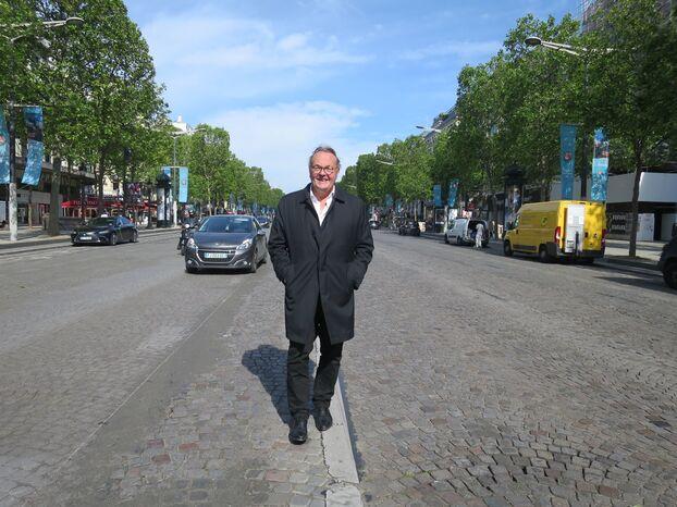 """Jean-Noël Reinhardt, après 14 ans à la tête du comité Champs-Elysées, démissionne pour lancer la future équipe """"un nouveau cycle"""" rénovation de l'avenue."""