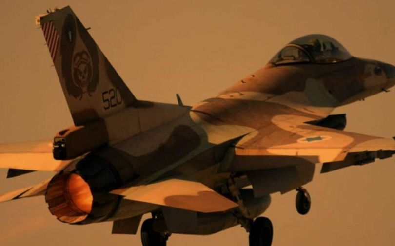 Un avion F16 de l'armée israélienne (illustration).