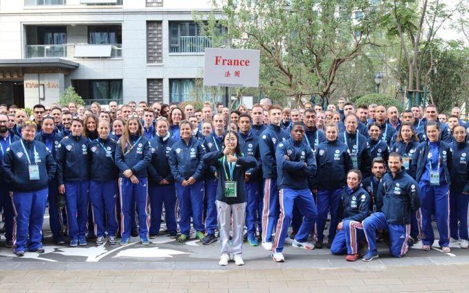 La délégation Française engagée aux 7e Jeux mondiaux militaires d'été du 18 au 27 octobre 2019, à Wuhan en Chine. 406 participants dont 281 athlètes, avec plus 100 sportifs de haut niveau.