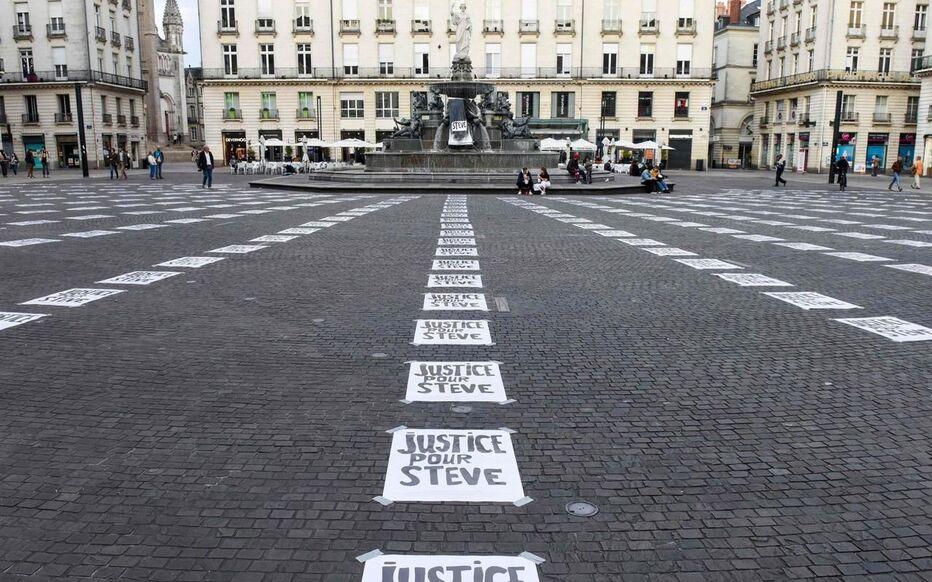La Place Royale, à Nantes, le 6 septembre dernier