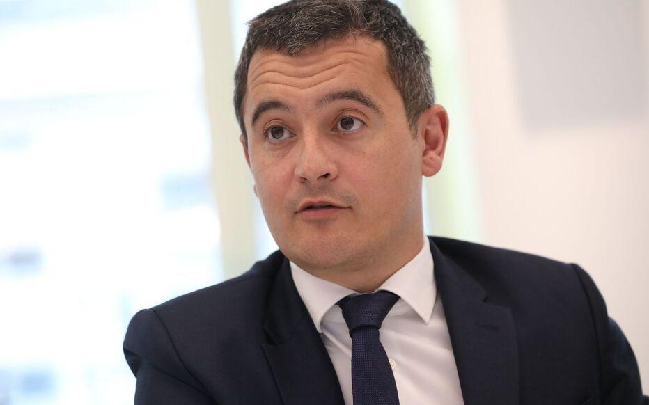 Gérald Darmanin , mnistre de l'Action et des Comptes publics.
