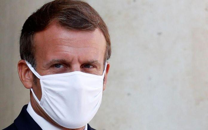 Emmanuel Macron, le 21 septembre 2020, à l'Elysée, à Paris.