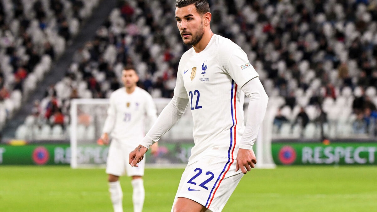 """Theo hernandez happy to continue with milan. France-Belgium, an """"unforgettable"""" memory for Théo ..."""