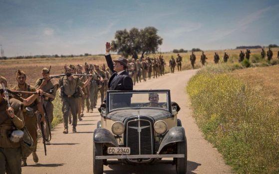 Le Général José Millán-Astray interprété par Eduard Fernandez © Teresa Isasi