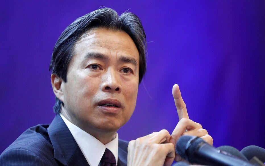 Du Wei, ici en 2019, lorsqu'il était ambassadeur d'Ukraine.