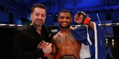 Yvelines: French MMA star trains at Mantes-la-Jolie