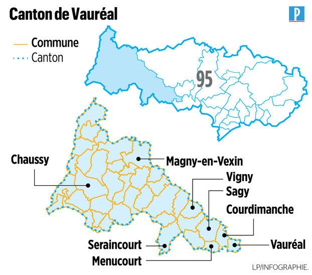 Elections départementales dans le Val-d'Oise: Vauréal, très recherché par la droite
