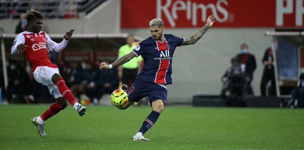 Icardi (here in Reims on September 27), one of the most wanted attackers in Europe./LP / Arnaud Dumontier