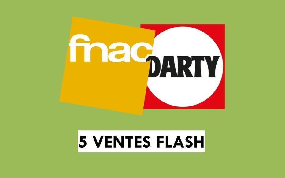 fnac darty decouvrez 5 ventes flash