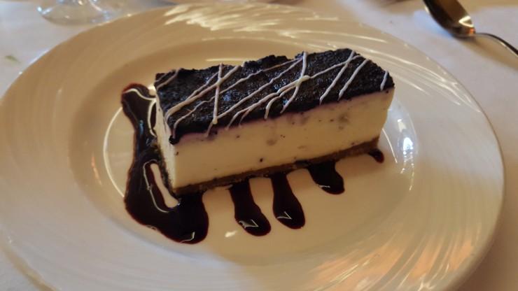 Cheese cake chocolat blanc