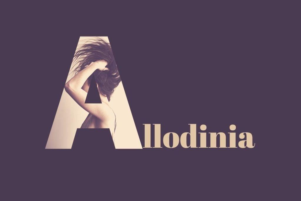 L'allodinia è un sintomo che sperimentano le persone che soffrono di emicrania cronica