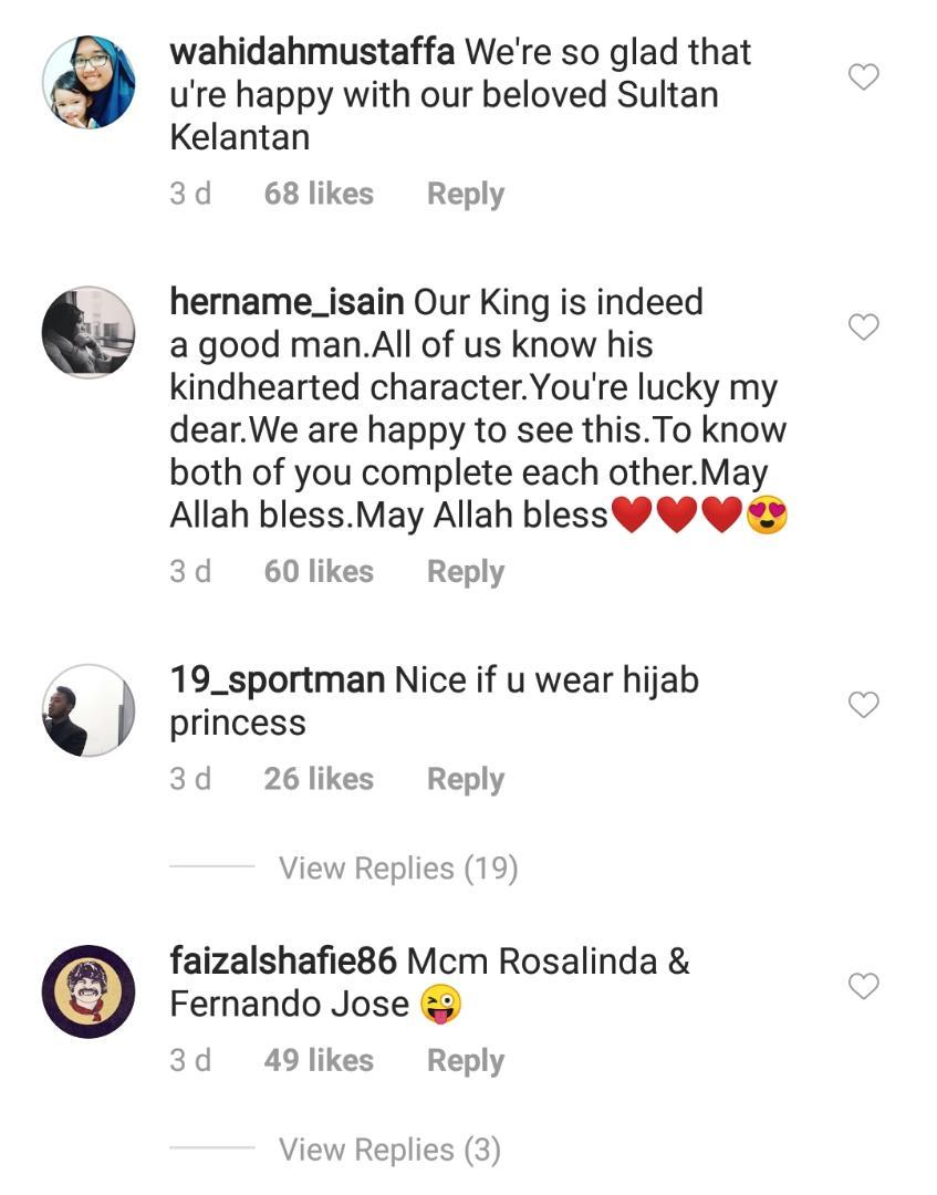 GAMBAR Isteri Sultan Kelantan Kongsi Mesej Istimewa