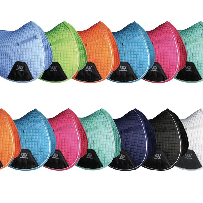 tapis de selle jumping colour fusion woof wear