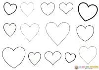 Coloriage Petit Coeur A Imprimer C Est Maman Qui L A Fait