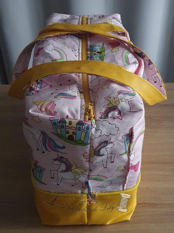 Le petit atelier de lily Sac de voyage licorne