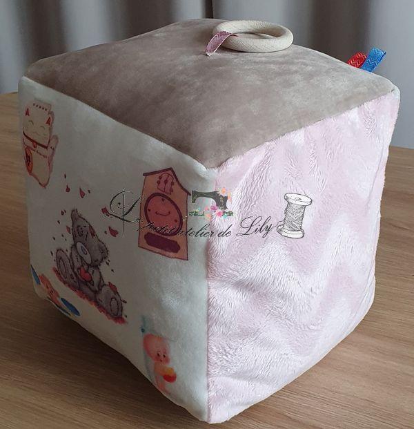 Le petit atelier de Lily cube naissance
