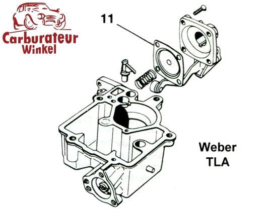 Weber TLA Carburateur Onderdelen