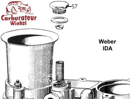 Weber IDA 2C Carburateur Onderdelen