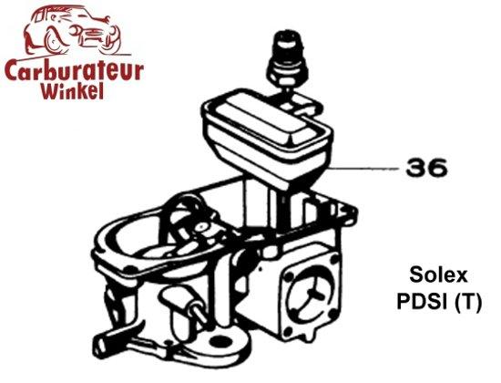 Pierburg PDSI Carburateur Onderdelen