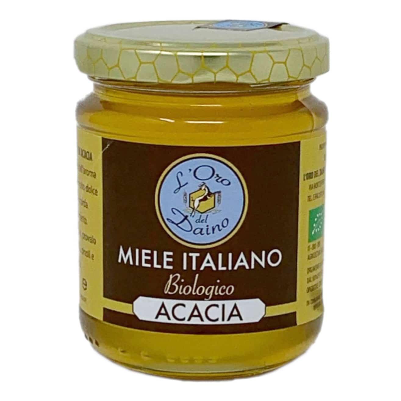 MIELE DI ACACIA BIO 250GR L'Oro Del Daino