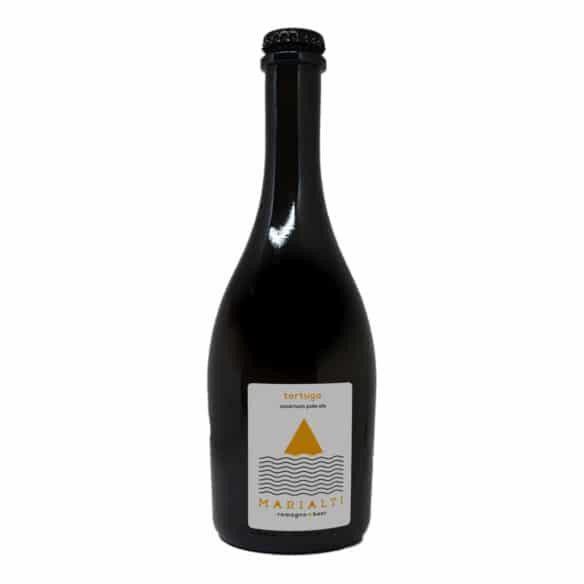 TORTUGA Birra Artigianale Ambrata Non Filtrata 75 CL Marialti Romagna Beer