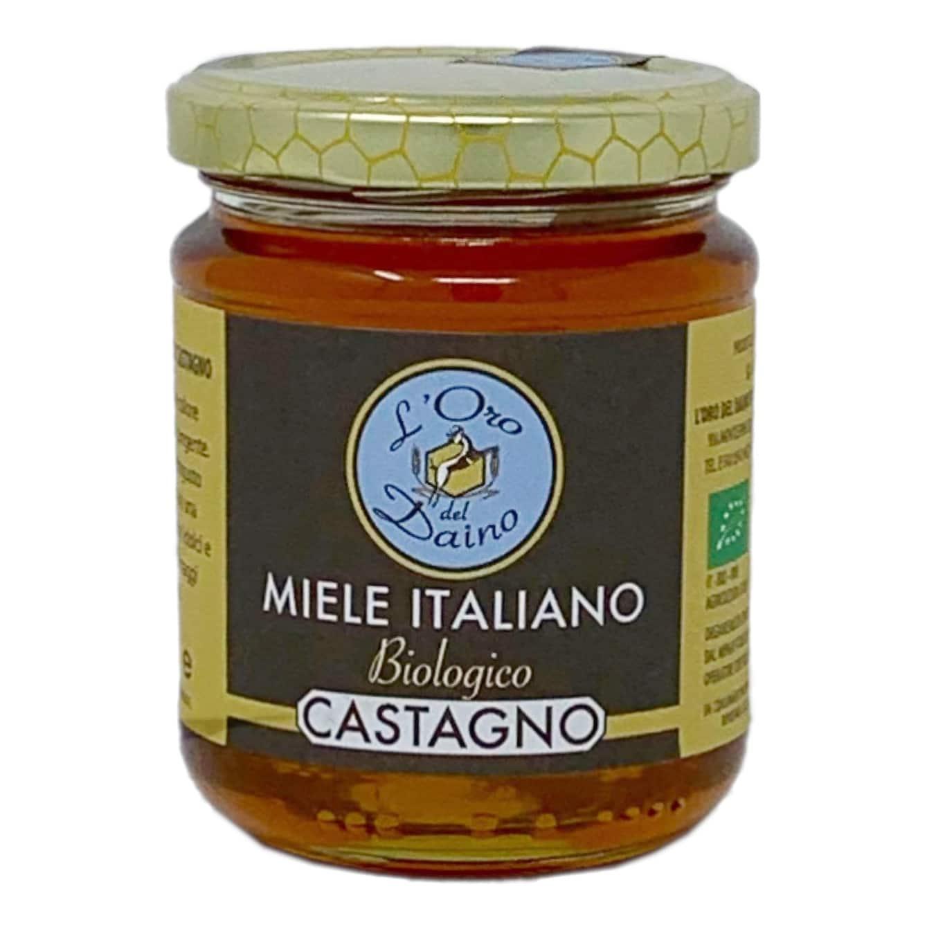 MIELE DI CASTAGNO BIO 250GR L'Oro Del Daino