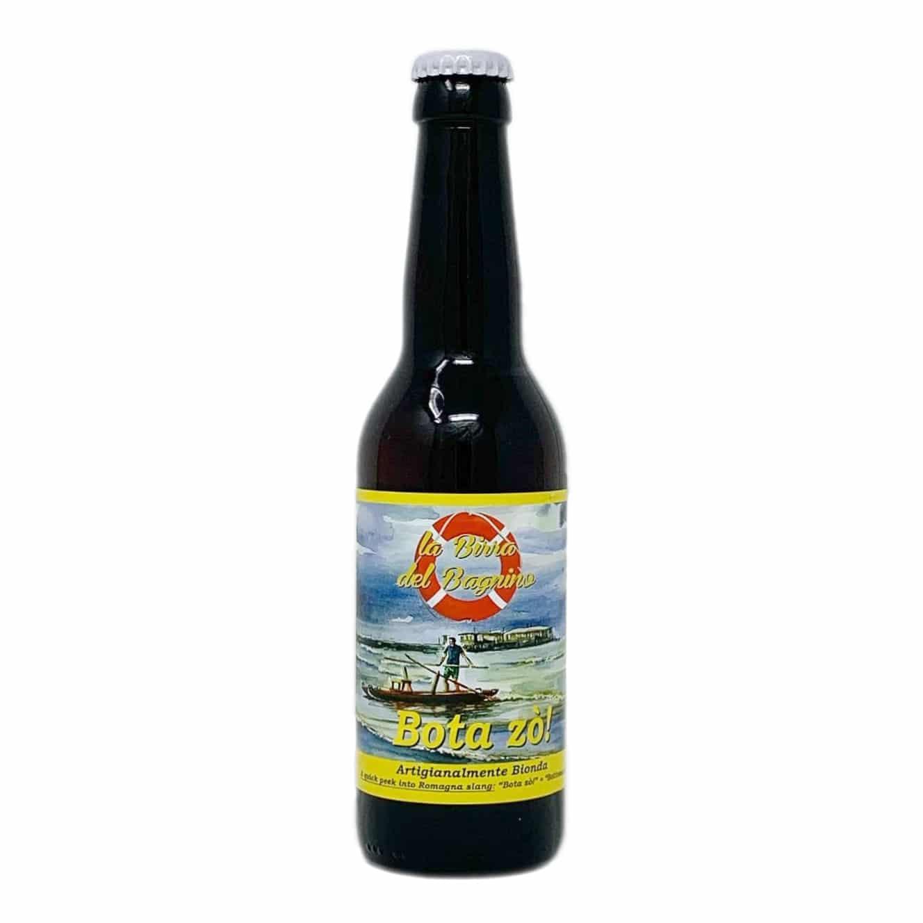 BOTA ZÒ! Birra Artigianale Bionda Pale Ale 33 CL La Birra del Bagnino - prodotti tipici romagnoli