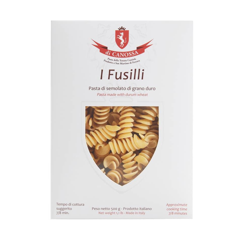 FUSILLI Pasta Di Canossa