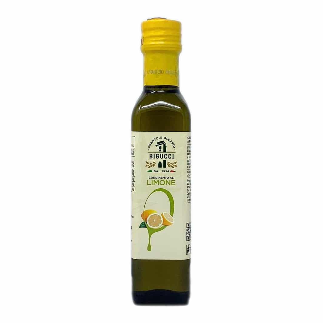 CONDIMENTO al Limone in Olio Extravergine d'oliva 25 cl BIGUCCI - prodotti tipici romagnoli